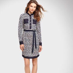 Tory Burch Suzette Nautical Striped Dress, 8
